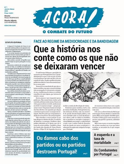Jornal AGORA! nº 1
