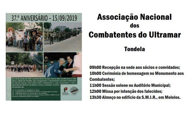 37º Aniversário da Associação Nacional dos Combatentes do Ultramar