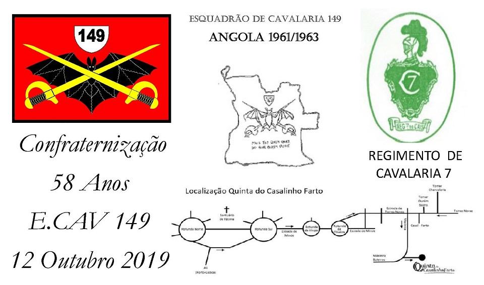 Convívio do Esquadrão de Cavalaria 149