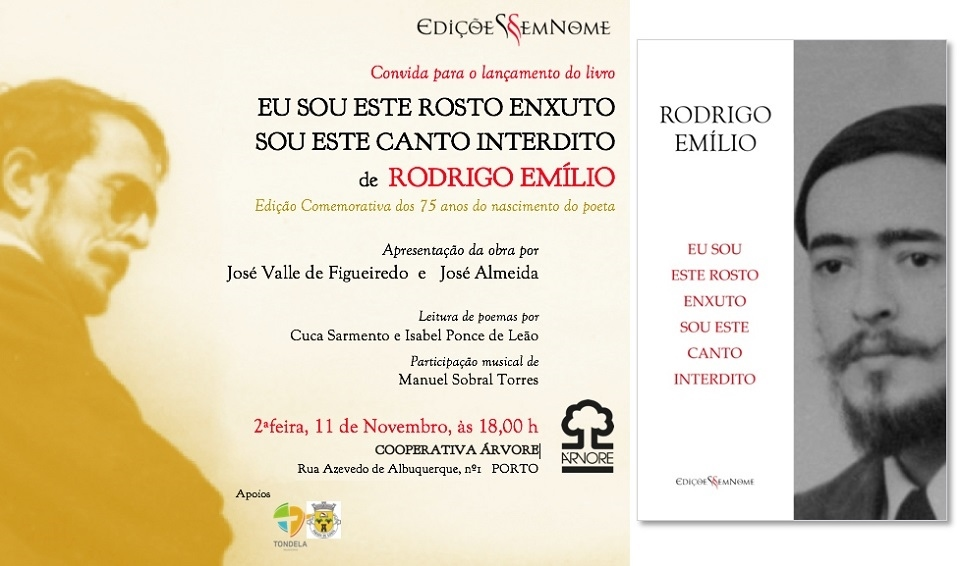 Lançamento do livro de Rodrigo Emílio no Porto