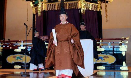 A entronização do Imperador do Japão e as relações com Portugal