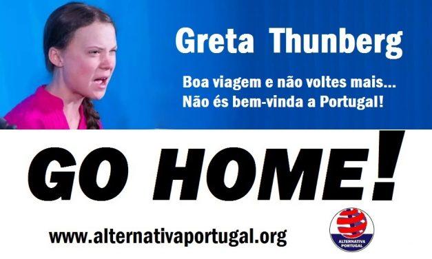 Greta Thunberg: não és bem-vinda a Portugal!